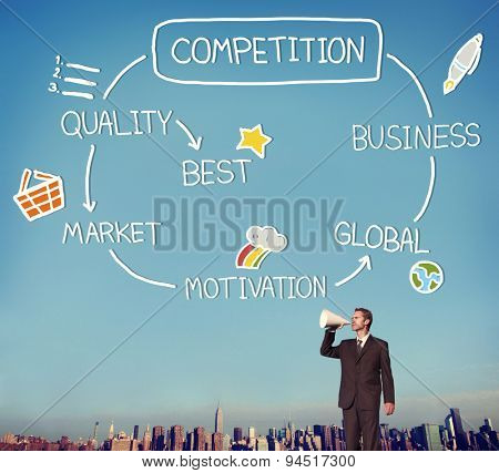 Competition Market Global Challenge Contest Concept