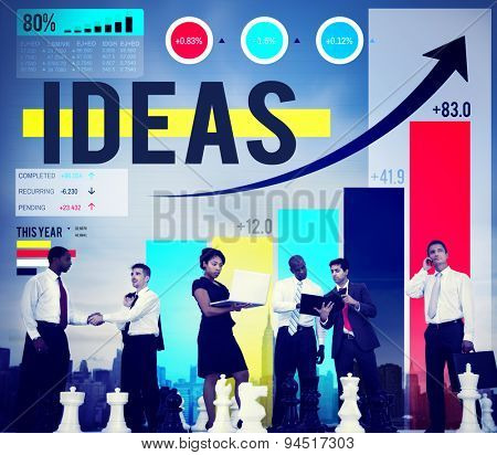 Idea Ideas Inspiration Motivation Strategy Imagination Concept