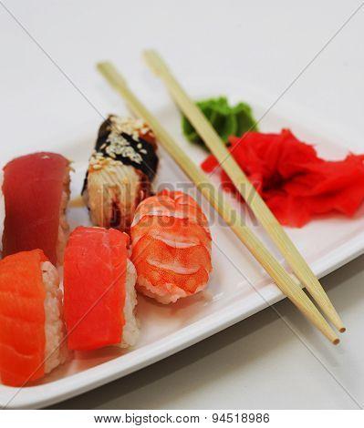 sushi. good japanese food.