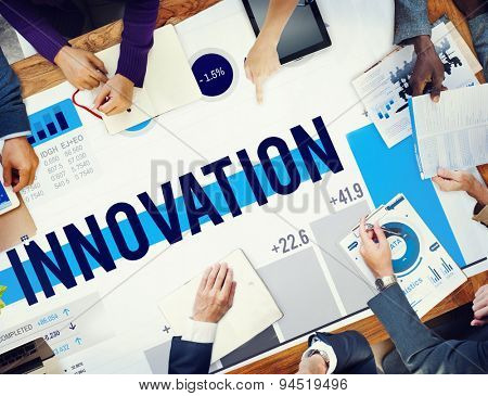 Innovation Inspiration Goals Ideas Mission Concept