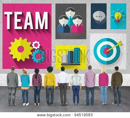 Team Teamwork Cooperation Community Group Concept