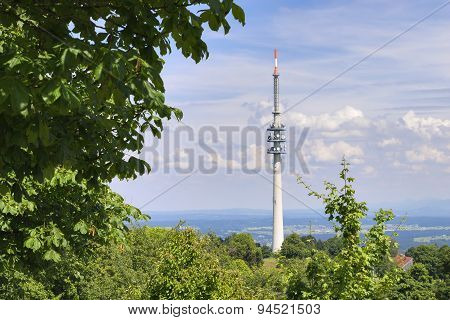 Landscape Broadcasting Tower