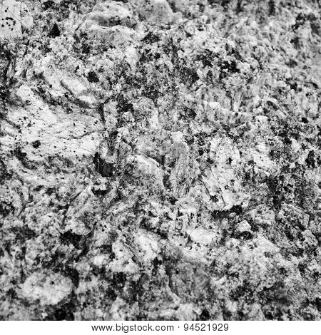 Granite texture closeup
