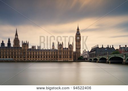 Houses Of Parliament - Long Exposure Version, London