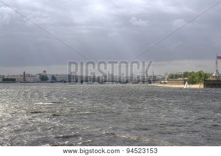 Saint Petersburg. Neva River