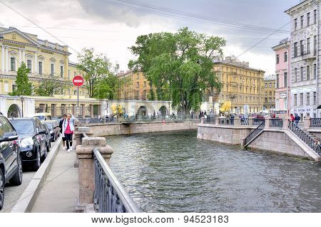 Saint Petersburg. Griboyedov Canal