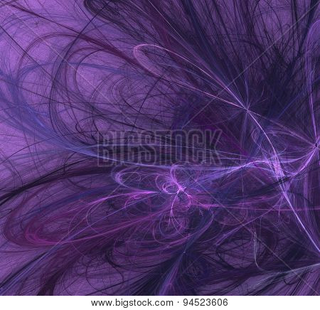 Purple Abstract-2