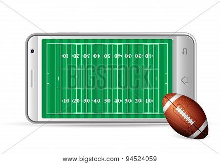 Smart Phone American Football