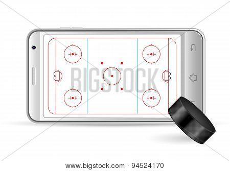 Smart Phone Hockey