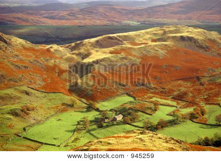 Lake District National Park Cumbria England Uk