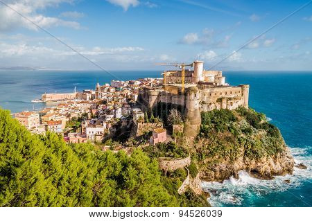 Medieval old town of Gaeta, Italy