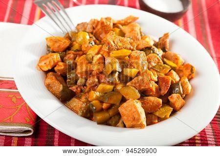 Pork And Vegetables Stew