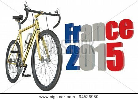 Bicycle Race  Tour De France 2015 Concept