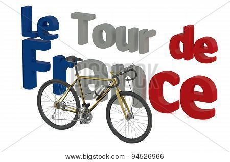 Bicycle Race  Tour De France Concept