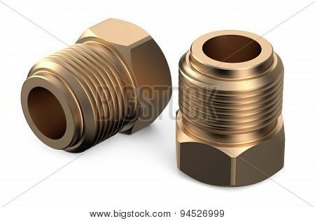 Set Of Copper Fittings