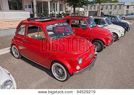 Vintage Italian Cars Fiat 500