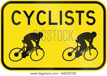Cyclists In Australia
