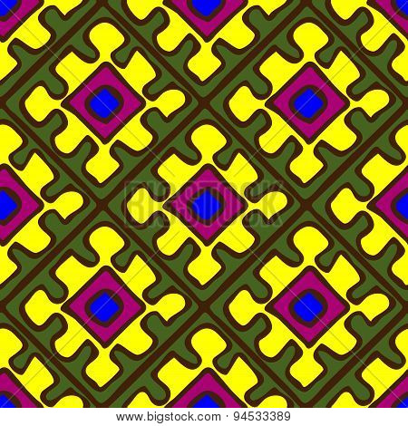 Seamless Pattern In African Style