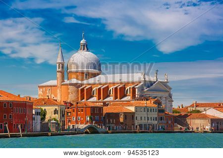 Church Il Redentore on Giudecca, Venice, Italia
