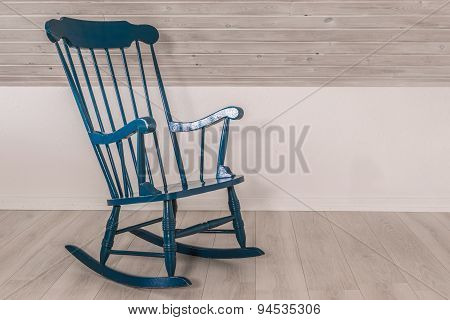 Rocking Chair In A Living Room