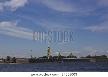 Peter and Paul fortress ,St. Petersburg,