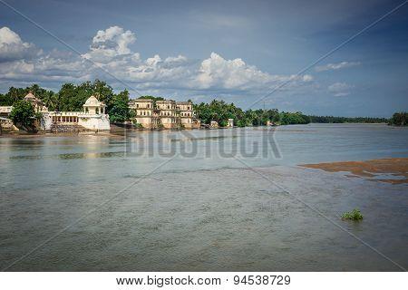 Temples Along The Vennar River.