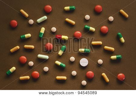 Pills Abstract