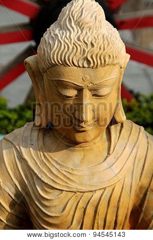 Statue Of Smiling Buddha