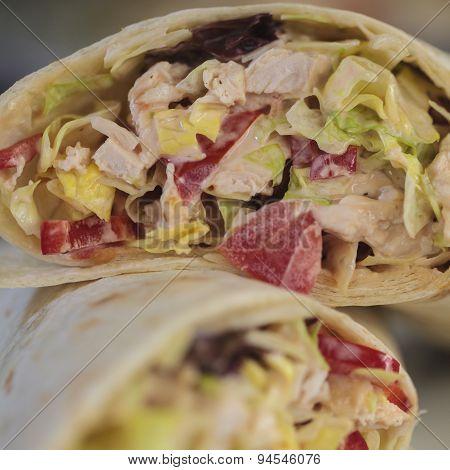 Wrap Sandwich - Square