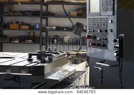 steel control panel