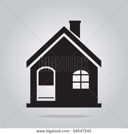 Building Icon Vector Illustration