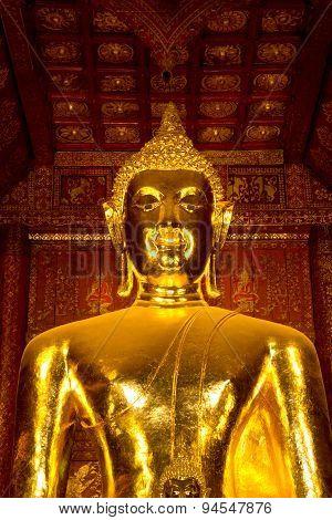 Gold Buddha Statue