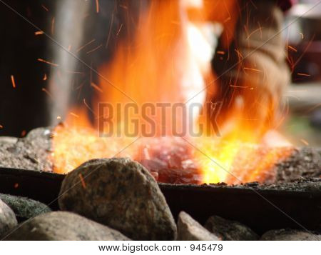 Blacksmith'S Fire