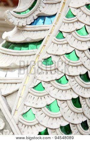 Stucco Temple Closeup Color