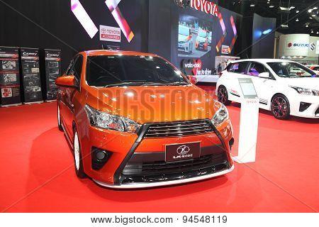 Bangkok - June 24 : Toyota Lx-mode Car On Display At Bangkok International Auto Salon 2015 On June 2