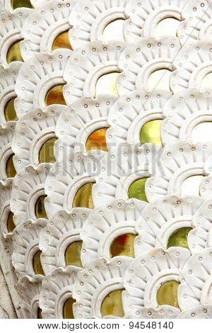 Stucco White Mirror Color