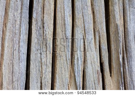 Texture Old Groove Timber