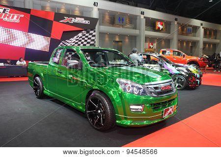 Bangkok - June 24 :isuzu X-series Car On Display At Bangkok International Auto Salon 2015 On June 24