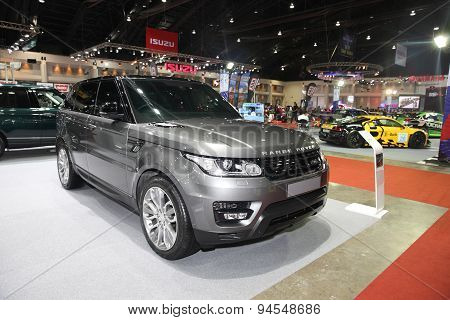 Bangkok - June 24 : Range Rover Car On Display At Bangkok International Auto Salon 2015 On June 24,