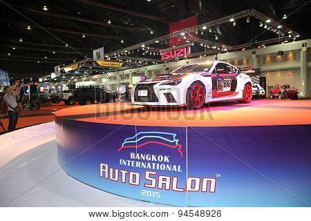 Bangkok - June 24 : Toyota  Car On Display At Bangkok International Auto Salon 2015 On June 24, 2015