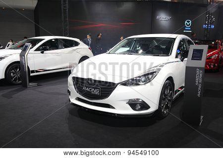Bangkok - June 24 : Mazda Racing Series Car On Display At Bangkok International Auto Salon 2015 On J