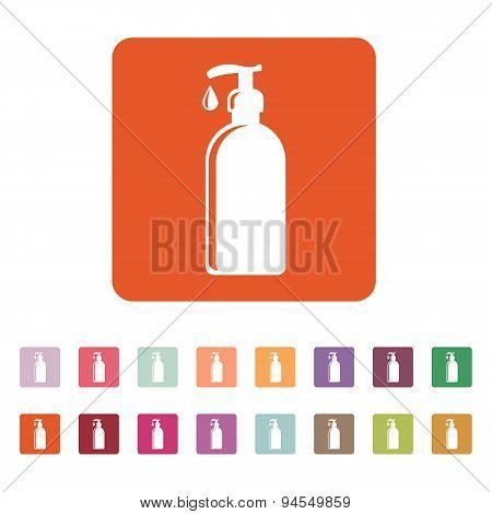 The Liquid Soap, Lotion, Cream, Shampoo Icon