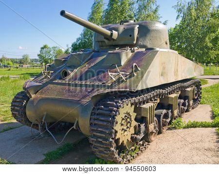Medium Tank M4-A2