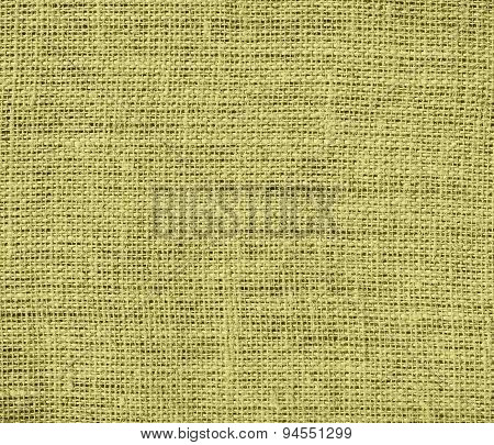 Dark khaki burlap texture background