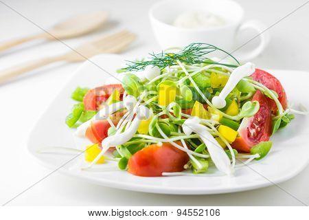Fresh Spring Salad.