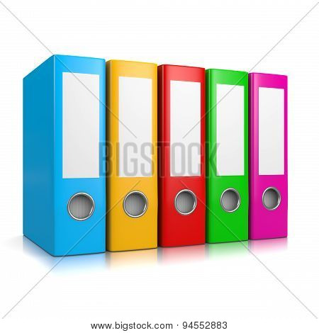 Colorful Binders Collection