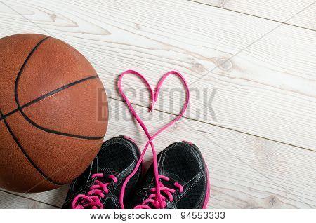Basketball In Heart