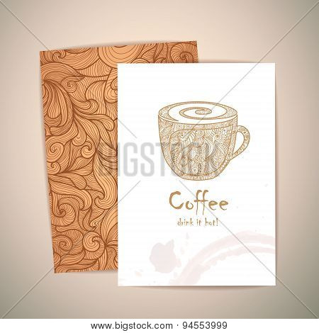 Coffee Concept Design. Corporate Identiy