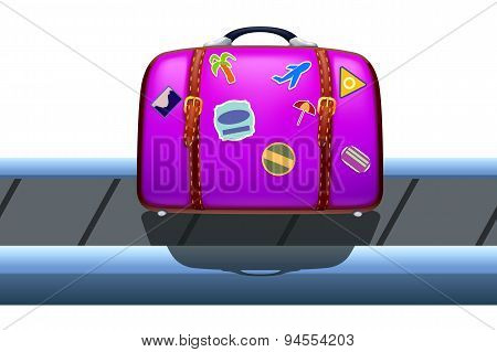 suitcase with wheels