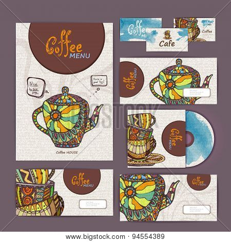 Coffee Concept Design. Corporate Identity